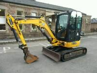 JCB 8025 ZTS Mini 010 Digger 1600 Hours