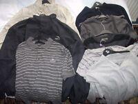 NINE ITEMS OF MEN'S CLOTHING
