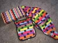 Bugaboo limited edition missoni hood and apron for Cameleon