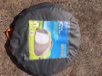 2 man pop up tent & camping equipment £35