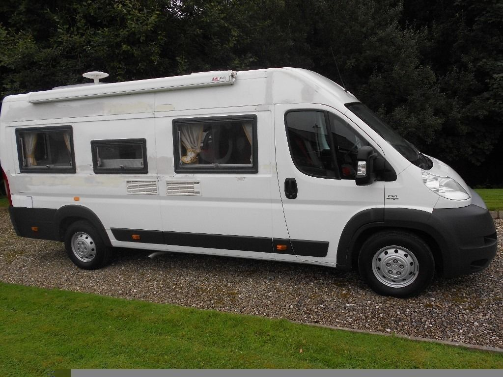 2014 fiat ducato maxi campervan conversion damaged in. Black Bedroom Furniture Sets. Home Design Ideas
