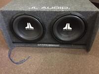 Jl audio slot port twin