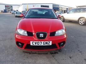 SEAT Ibiza Reference Sport 12v 3dr (red) 2007