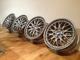 "BBS Style 42 BMW 17"" split rims 5x120 e36 e46 (Refurbished)"