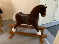 Designer handmade rocking horse MJMARK