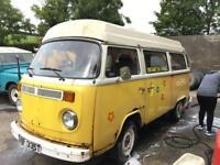 Vw 1979 Bay Window Camper