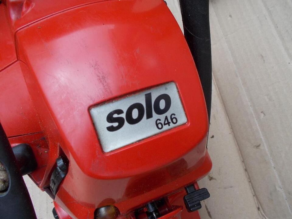 solo 646 motorsäge,sofort einsatzbereit,644,651,667,662 in Schillingsfürst