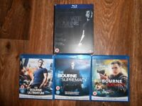 THE ULTIMATE BOURNE COLLECTION BLU RAY BOXSET