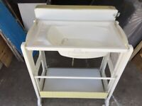 Baby Bath and Changing Unit