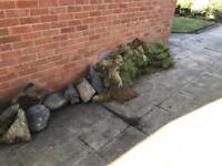 —-FREE—- grass blocks and large stones —-FREE—-