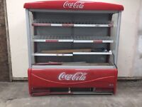 Commercial open fridge for sale