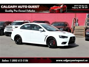 2015 Mitsubishi LANCER EVOLUTION GSR ALL WHEEL DRIVE / 5-SPEED M