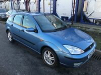 FORD FOCUS , 2003 REG , LOW MILES + HISTORY , DRIVES GREAT, LOTS OF NEW PARTS, NO MOT SPARES/REPAIRS