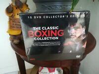 Boxing Greats DVD Box Set Un-Opened.