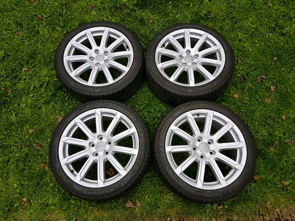 "18"" Genuine Alloys Audi SLine & Tyres 245 40 18"