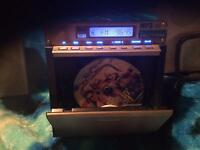 For sale one mini hi-fi with remote
