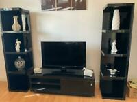 Two units and tv stand