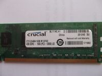 RAM 4GB DDR3 1600 for desktop PC