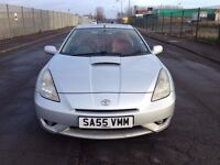 (55) Toyota CELICA 1.8 vvti , mot - July 2017 , service history , 3 owners , focus, astra