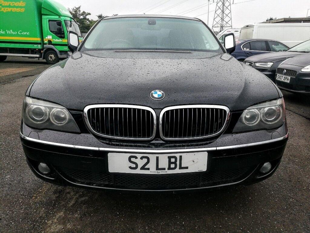 2006  BMW 7 Series 3 0 730d SE /230 ps/  NEW MOT July 2019  Non  runner  Black  Full Option  VGC  | in Dundee | Gumtree