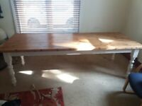 Large 8ft x 3ft Kitchen/Dining Table