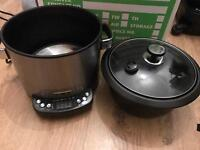 [1 year old] Used Tower T16001 Digital Multi Cooker - Timer - 5L - Roast/Steam/Braise/Fryer/Slow