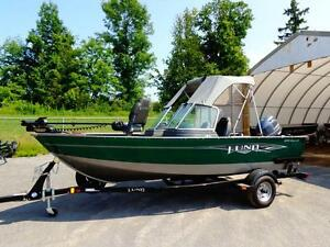 Lund 1650 Rebel XL Sport with a 70 HP Yamaha 4-Stroke