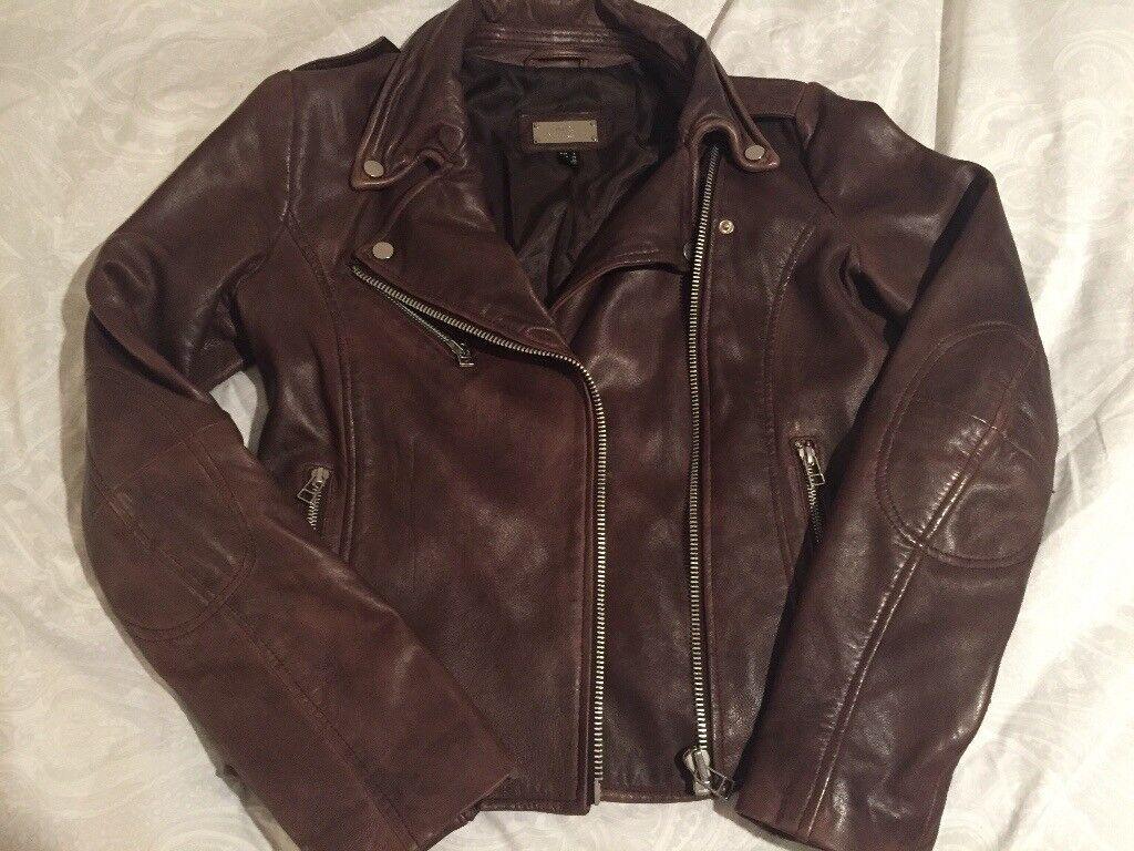 Beautiful Mango Chocolate Brown Leather Jacket