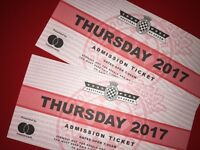 Single Goodwood FOS ticket for Thursday 29th June **Tomorrow!**