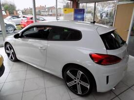 VOLKSWAGEN SCIROCCO 2.0 R TSi 2dr (280) * Sat Nav & Leather * * Bluetooth + DAB + Heated Seats *