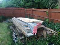 JOB LOT F-Board composite plastic scaffold boards 8fts and 10fts available.