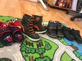 Bundle of shoes size 7.5 and 7 boys