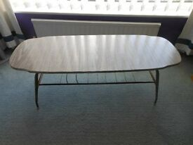 Genuine 1950's coffee table