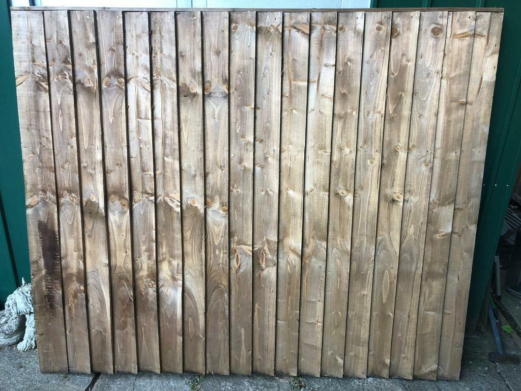 Sold 3 X Fence Panels 6x5 In Hollywood West Midlands Gumtree