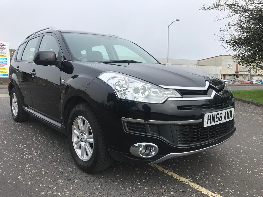 Citroen C-Crosser HDI excellent condition 4X4 7 seater