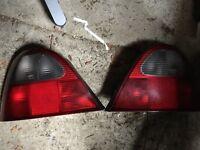 MG ZR/ Rover 25 rear Lights