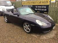 Porsche 911 carrera 4 t Reg 3.0 convertible 300 bhp low mileage