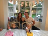 Nanny wanted for 3 children, Boy 4 and twin boy and girl aged 2. East Sheen, Live out