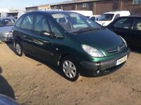 CITROEN PICASSO XSARA CHEAP RUNABOUT GOOD DRIVER CAME IN PX TODAY ANYTRIAL NEW TYRES
