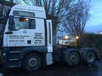 MAN Artic Truck TGA26.440 2007 £5000