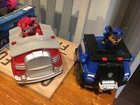 Paw patrol large toys