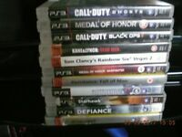 PS3 GAMES - 11 ACTION GAMES