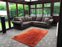Collins & Hayes® Oberon Corner Sofa In Grey L Shaped Cost £4500