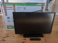 "Toshiba 32W1333DB - 32"" HD LED TV, Built-in Freeview, HDMI, VGA, SCART & USB port"