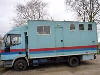 FORD IVECO 75E15 Horse Lorry