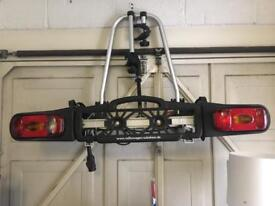 Two bike tow bar mounted bike rack Brand new