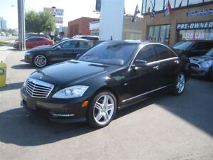 2012 Mercedes-Benz S-Class S550 4MATIC/SPORT AMG PACKAGE