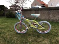 "Raleigh Kool Miss 16"" Girls Kids Bike"