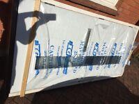 Brand new Upvc dg door in packaging still