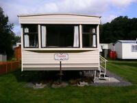 Static caravan sited West Wales
